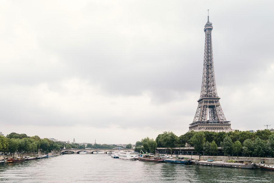 Rivier de Seine in Parijs