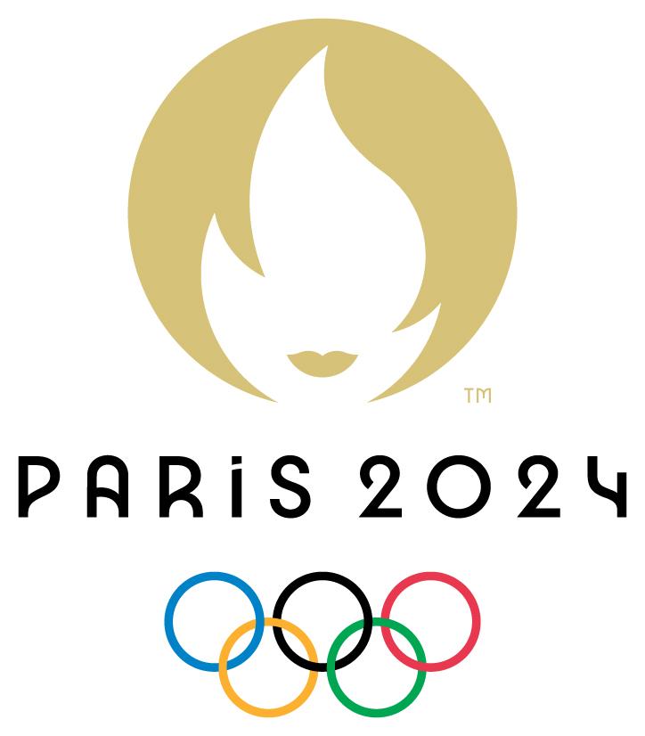 officiële logo olympische spelen 2024 Parijs