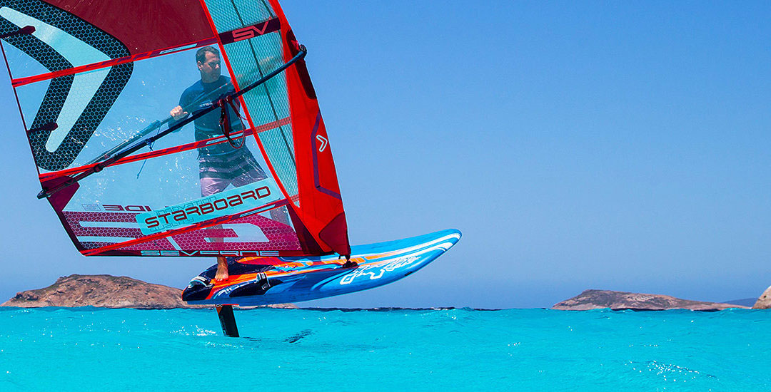 windsurfen wordt windfoilen in 2024 iFoil