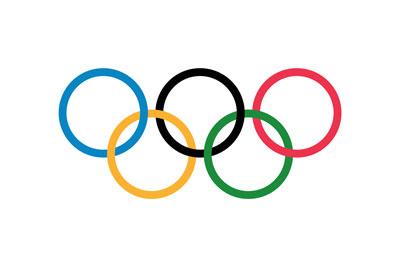 Vlag olympische spelen